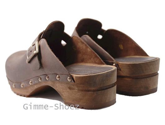 sanita san flex open clogs pu leather schwarz wei leder 450040 neu ebay. Black Bedroom Furniture Sets. Home Design Ideas